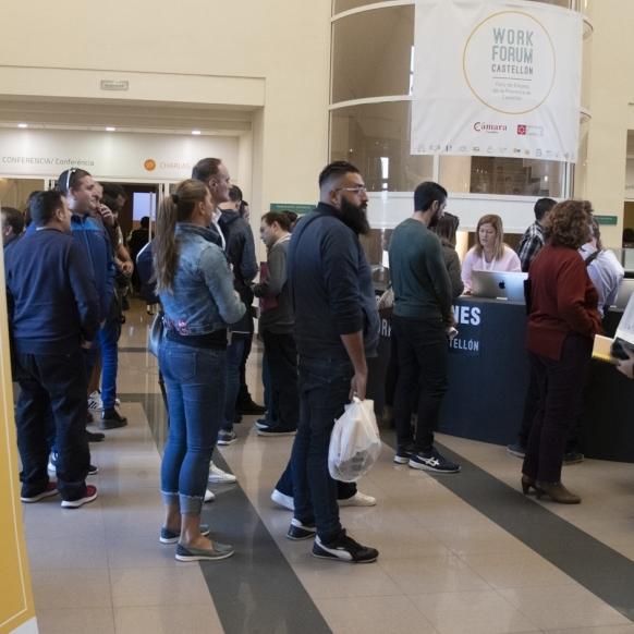 Diputación y la Cámara de Comercio registran ya más de 1.500 inscritos para el Work Forum