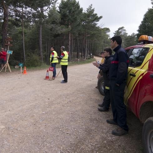 Diputación coordina un amplio dispositivo de bomberos y voluntarios de Protección Civil