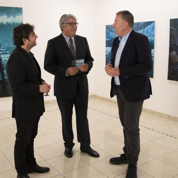 Diputación acoge la exposición pictórica 'Apocalipsis' de Santi Tena