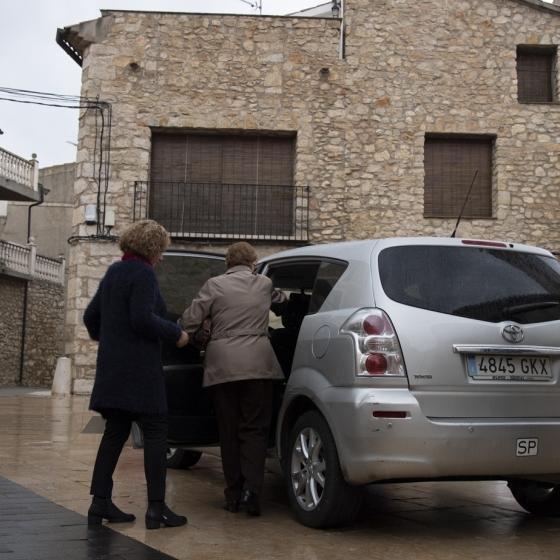 Los pueblos revalidan el Transporte Rural con Fines Médicos de la Diputación