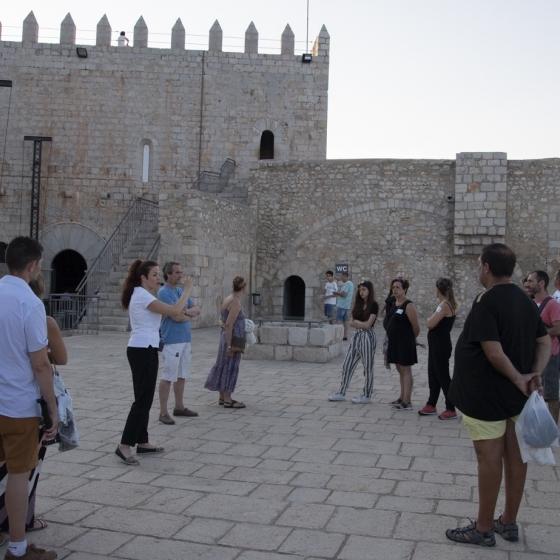 Diputación refuerza la mejora de las visitas al Castillo de Peñíscola