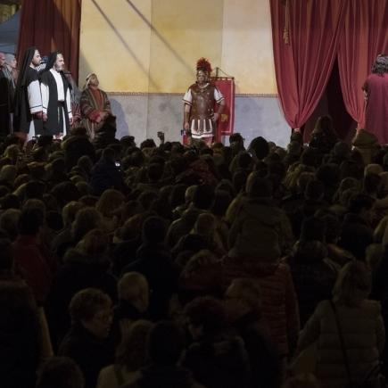 Diputació reforça 'La Passió' de Torreblanca i de Borriol com a emblemes