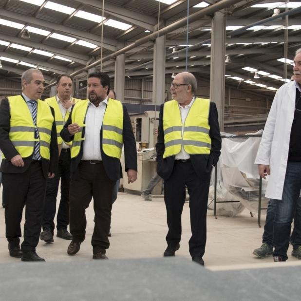 Moliner traslladarà al Comissari europeu d'Energia les reivindicacions del sector ceràmic