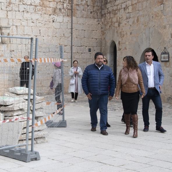 Diputació reinicia la restauració del Castell de Penyíscola