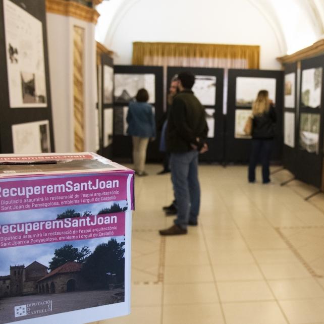 Diputació manté en Les Aules l'exposició dels projectes de Sant Joan