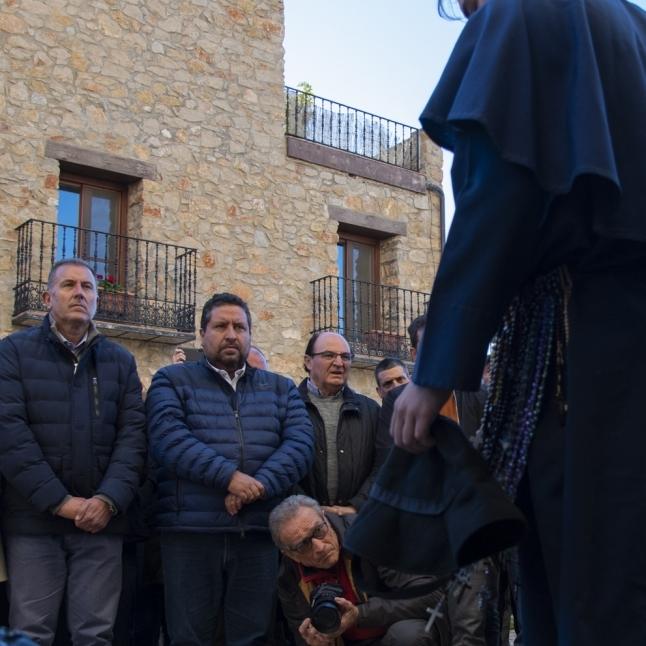 Moliner consolida su apoyo a 'Els Pelegrins de Les Useres'