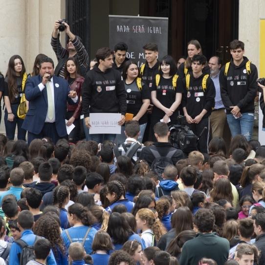 Diputació promou el major acte contra l'assetjament escolar