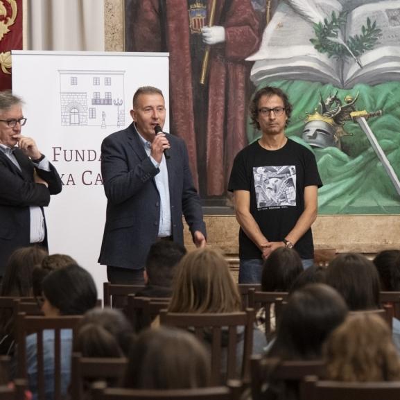 150 estudiantes castellonenses 'aprenden jugando' en la Diputación