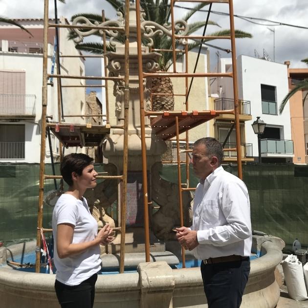 Diputación restaura la Fuente de San Miguel de Canet