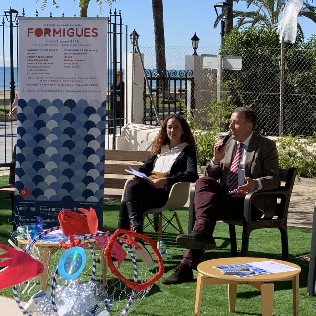 Diputació dóna suport al Formigues Festival com a part de la seua campanya