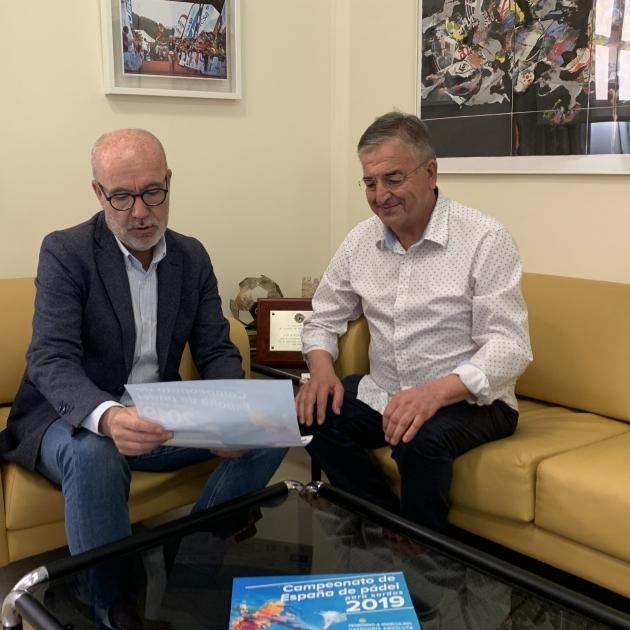 Diputación impulsa el Campeonato de España de Pádel para Sordos
