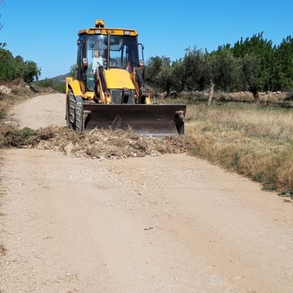 Diputació rehabilita camins rurals a 64 municipis en la seua aposta pel patrimoni natural