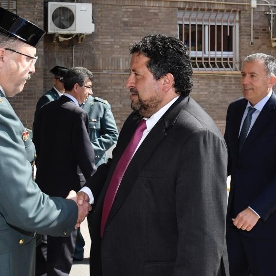 Moliner participa en la conmemoración de la fundación de la Guardia Civil
