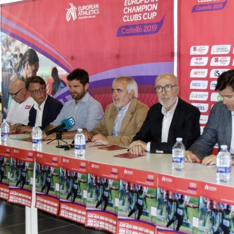 Diputació reforça aquest cap de setmana el Campionat d'Europa d'Atletisme