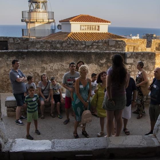 Diputació comprova la millora del Castillo de Peníscola com a producte turístic