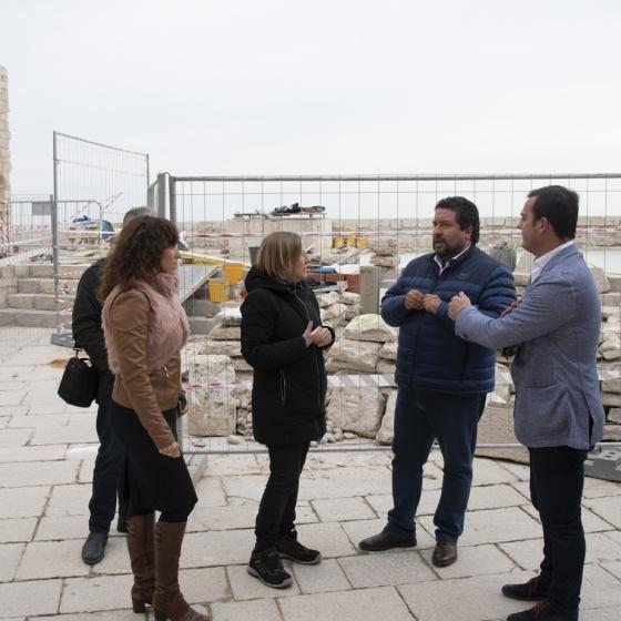 Diputació avança en la rehabilitació del Castell de Xivert i de Peníscola