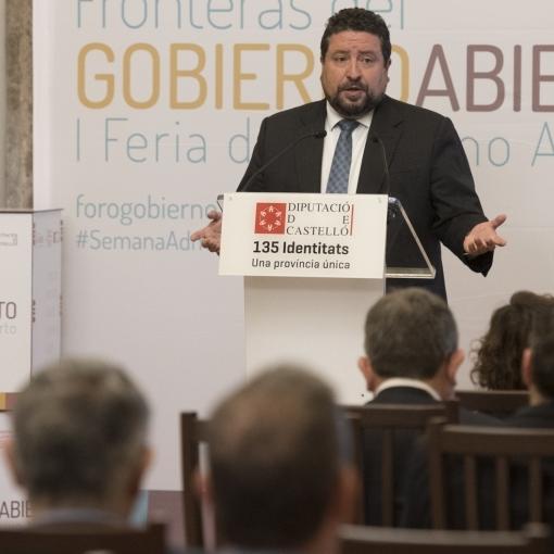 Moliner consolida la Diputación como una de las instituciones más transparentes