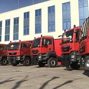 Consorcio Provincial de Bomberos incorpora 13 nuevos vehículos