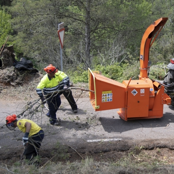 Diputación refuerza sus trabajos de prevención de incendios