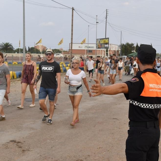 Moliner consolida la Agrupación de Voluntarios de Protección Civil con 1860 servicios