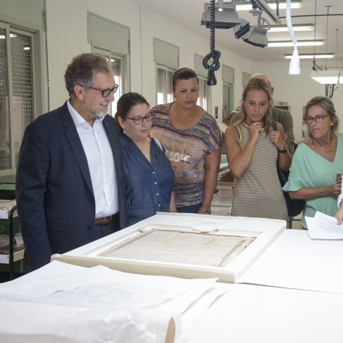 José Martí destaca el prestigi del treball que desenvolupa el funcionariat del complex Penyeta
