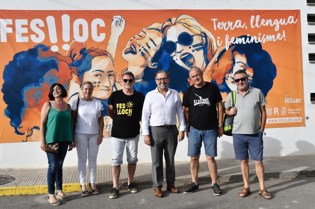 Martí reivindica el Feslloc por la difusión de la música en valencià y la generación de riqueza