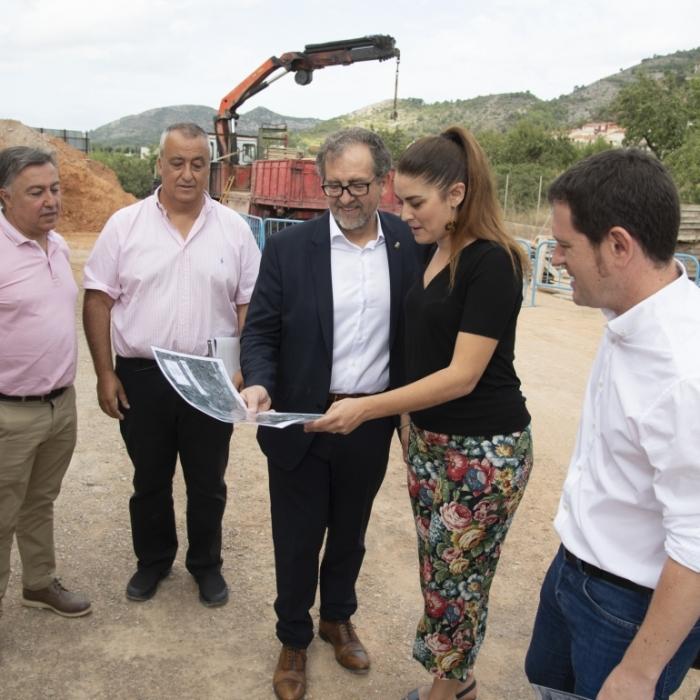 El colector de aguas residuales de Borriol funcionará en otoño