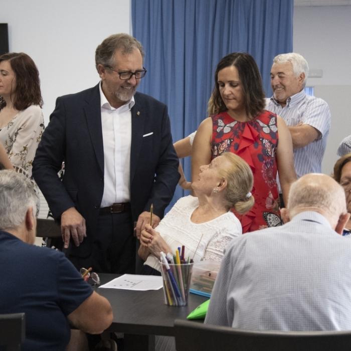 Martí visita les obres de la Diputació a Albocàsser amb una inversió de 592.000 euros