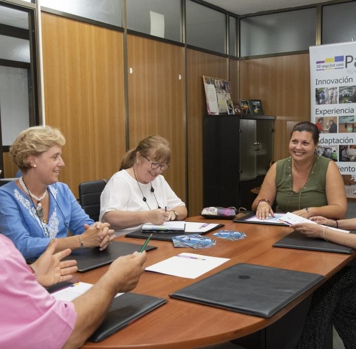 La Diputación analiza con Patim programas para prevenir las adicciones en los municipios de interior