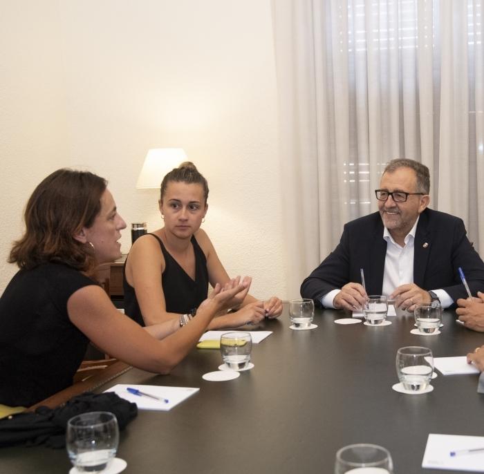 La Diputación y la Fundación Trinidad Alfonso unen esfuerzos para promocionar el talento deportivo