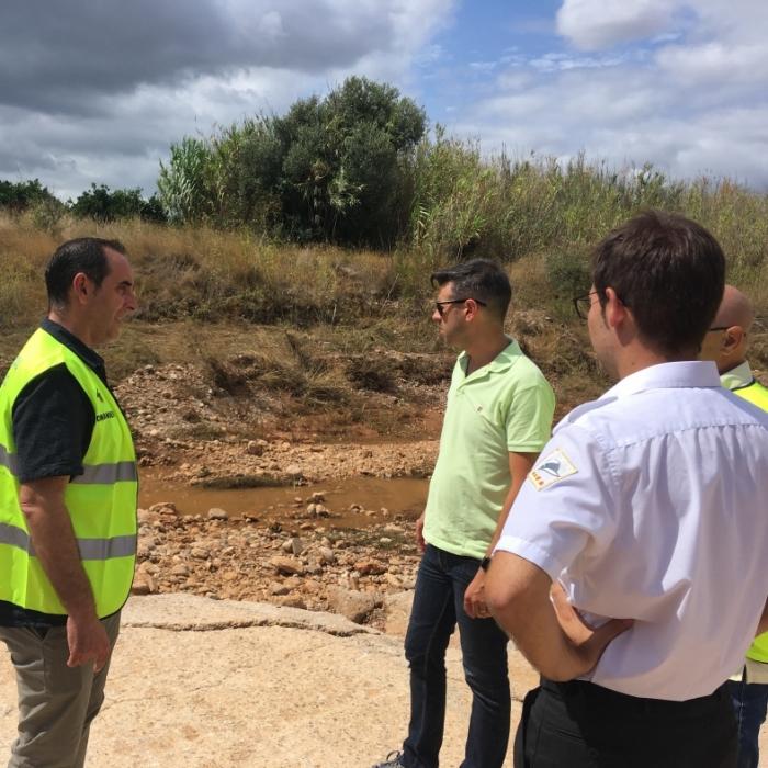 Comencen a Càlig i Santa Magdalena els treballs per a reparar les afeccions per les pluges