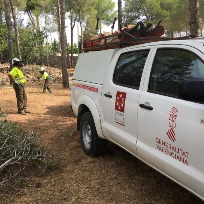 La Diputación actúa en 60 municipios para mitigar riesgos de incendios y riadas desde 2017