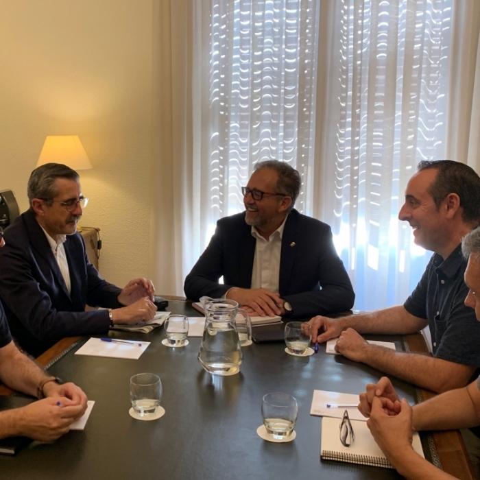 La Diputación y la Generalitat mejorarán la coordinación para una respuesta eficaz ante emergencias