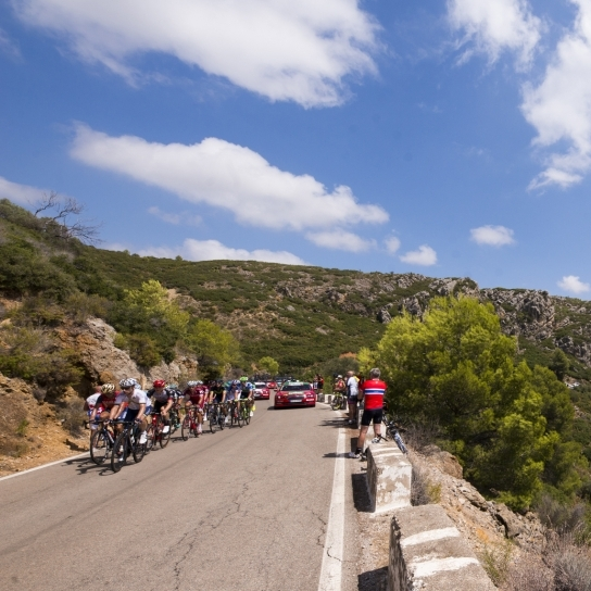 Uns 30 municipis de Castelló seran protagonistes en les etapes per la província de La Vuelta 2019