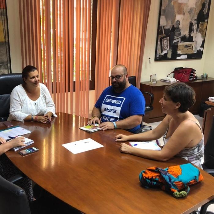 Puerta destaca la gran labor social que realitza Cocemfe Maestrat en l'àmbit de la discapacitat