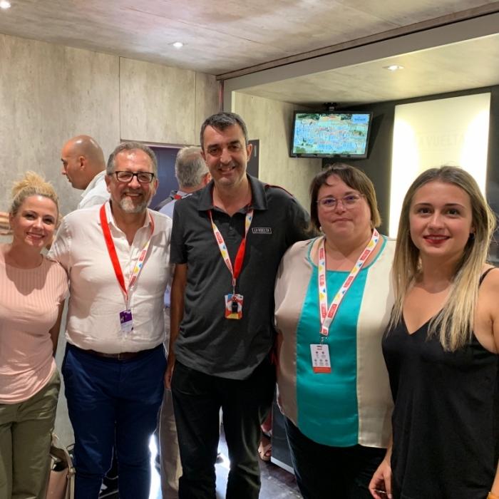 """Martí: """"La Vuelta compta amb Castelló per a continuar donant suport a aquest gran cita esportiva"""""""