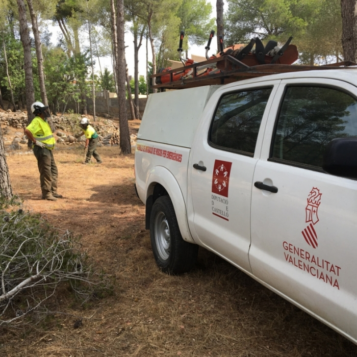 La Diputació prepara la neteja del vial Cabanes-Orpesa després del l'informe positiu del Consell