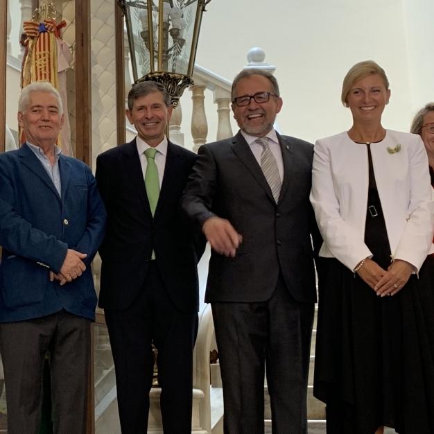 Martí participa en Castelló en los actos para conmemorar los 40 años de democracia municipal