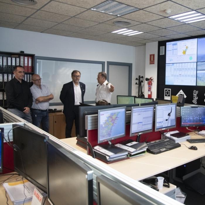 Ampli dispositiu del Consorci Provincial de Bombers davant l'arribada de la gota de freda