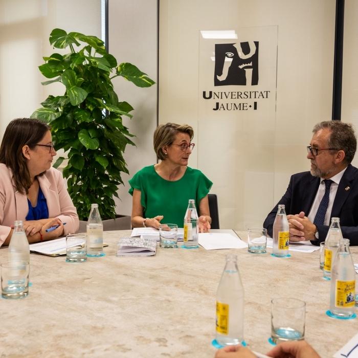 La Diputació i l'UJI reforçaran la seua col·laboració per a combatre la despoblació