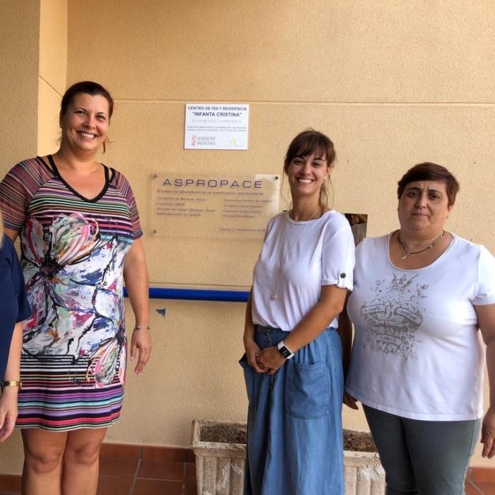 Puerta se reúne con Aspropace para mejorar la calidad de vida de los niños con parálisis cerebral