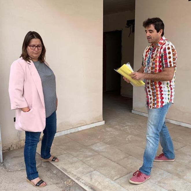 La Diputació estudiarà fórmules per a reprendre el projecte de la Casa de Cultura de Borriol