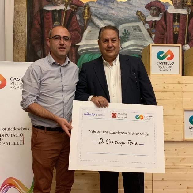 Santiago Tena, de Vilafranca, gana l'I Concurs de Receptes Gastronòmiques Castelló Ruta de Sabor