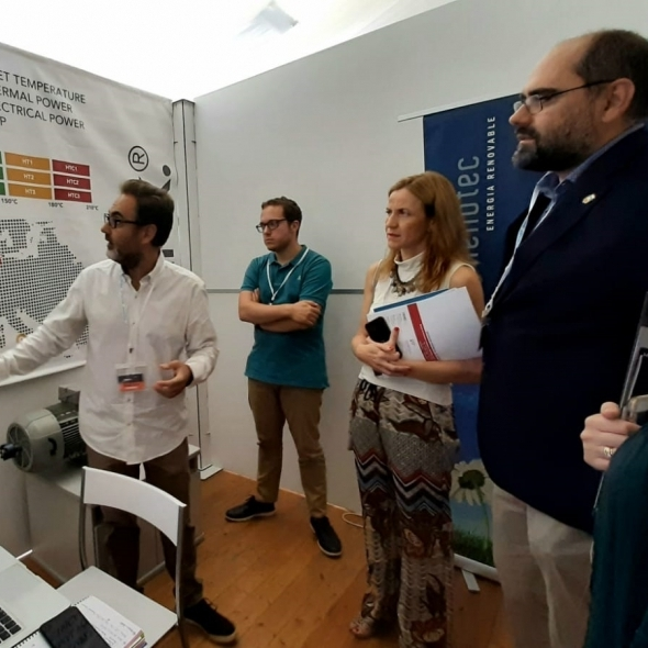 Promoción Económica de la Diputación de Castellón, presente a la Feria Destaca de la Vall d'Uixó