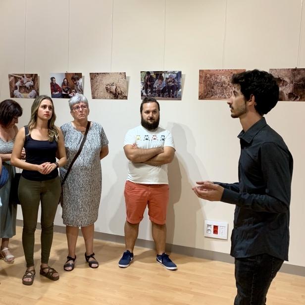 Baños obri l'exposició que retrata les exhumacions de represaliats franquistes a Castelló