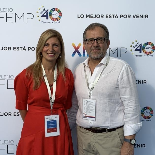 Martí destaca que la despoblació haja estat protagonista en el ple de la FEMP
