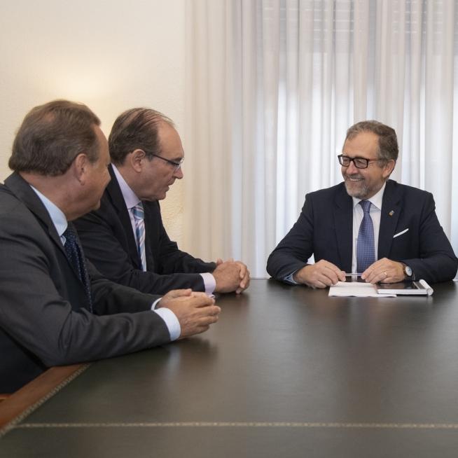 La Diputació i ASCER treballaran de la mà per a crear sinergies que beneficien a la indústria