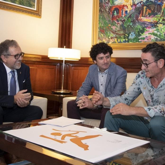 La Diputació estudiarà fórmules de col·laboració per a culminar la reforma del Palau de Betxí