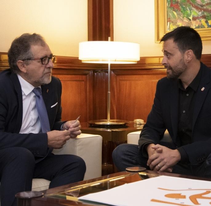 Martí demana un estudi que explique el deteriorament de les pintures de l'arxiprestal de Vinaròs