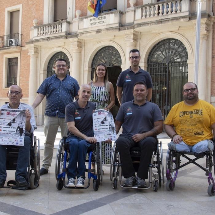 Tania Baños presenta el II Trofeu Ciutat de Castelló de Bàsquet amb Cadira de Rodes